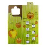 Bag in Box Karton mit Beutel / Saftkarton befüllen 5 Liter
