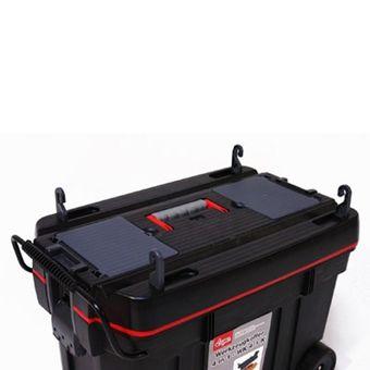 Werkzeugkoffer 4 in 1 Werkzeugtrolley Werkzeugkiste fahrbar – Bild $_i