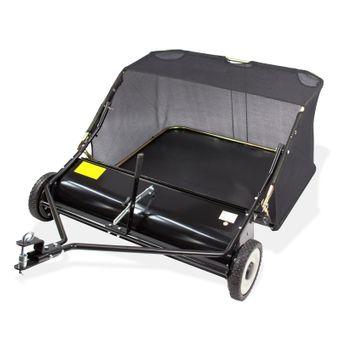 Rasenkehrmaschine Laubkehrmaschine Rasenkehrer Laubkehrer für Rasentraktor 105cm – Bild $_i