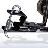 Rasenkehrmaschine / Laubkehrmaschine für Rasentraktor 105 cm