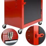 Werkstattwagen / Werkzeugwagen mit Kofferaufsatz im Set 3+