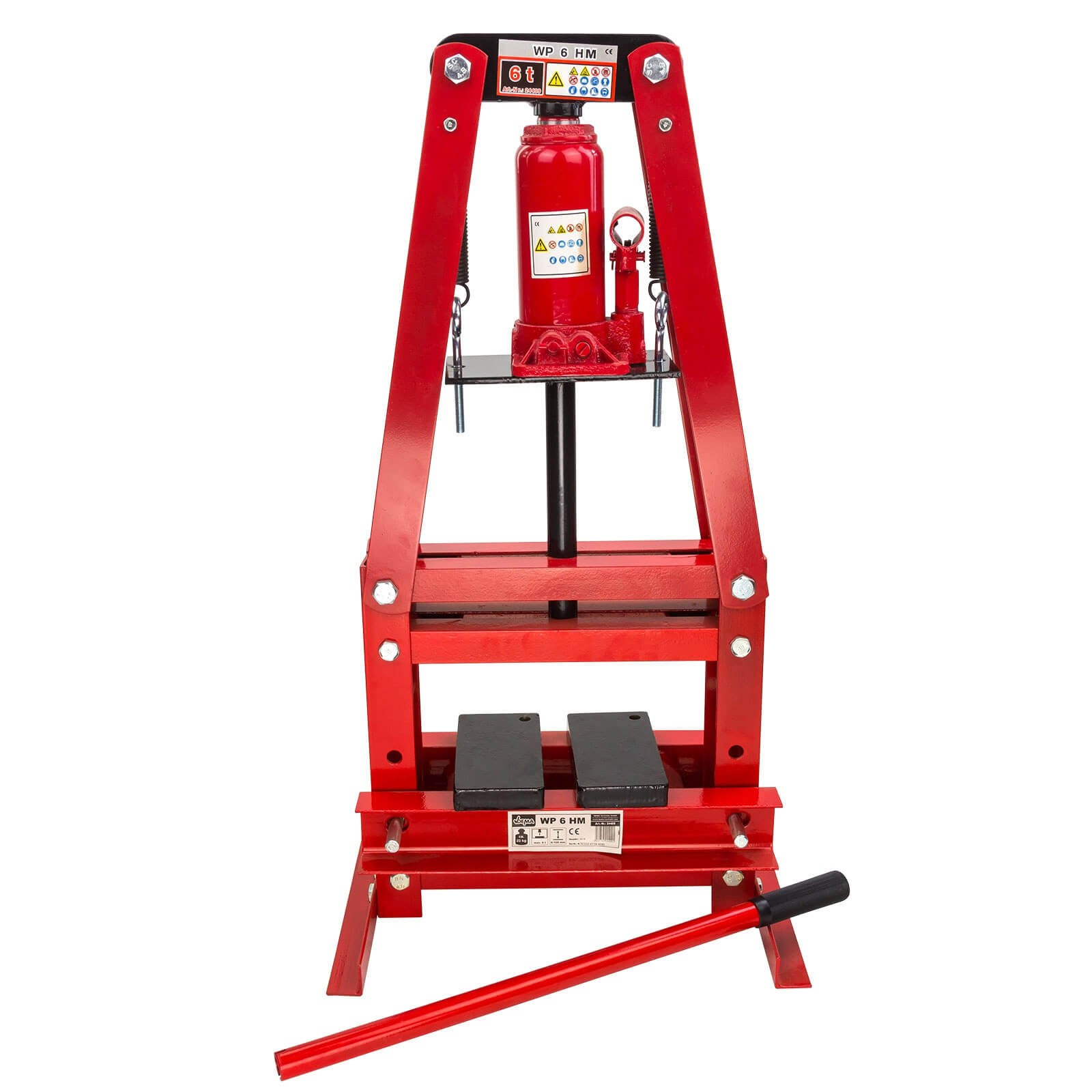 Dema Werkstattpresse 6 Tonnen hydraulisch manuell Hydraulikpresse 24409