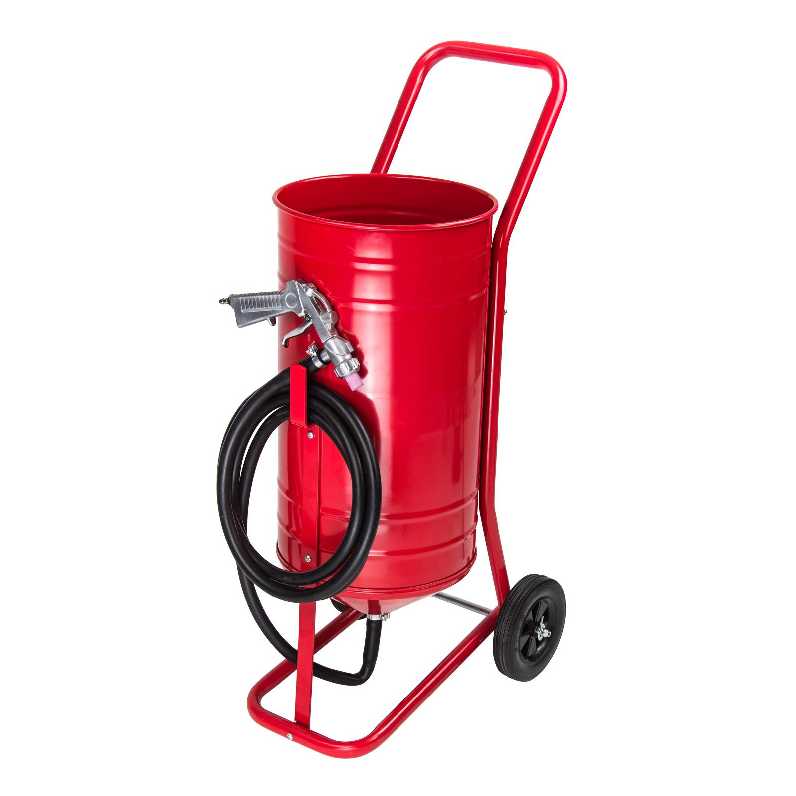Sandstrahlgerät / Sandstrahler Mobil 30 Liter - Dema SSGM 30 24552