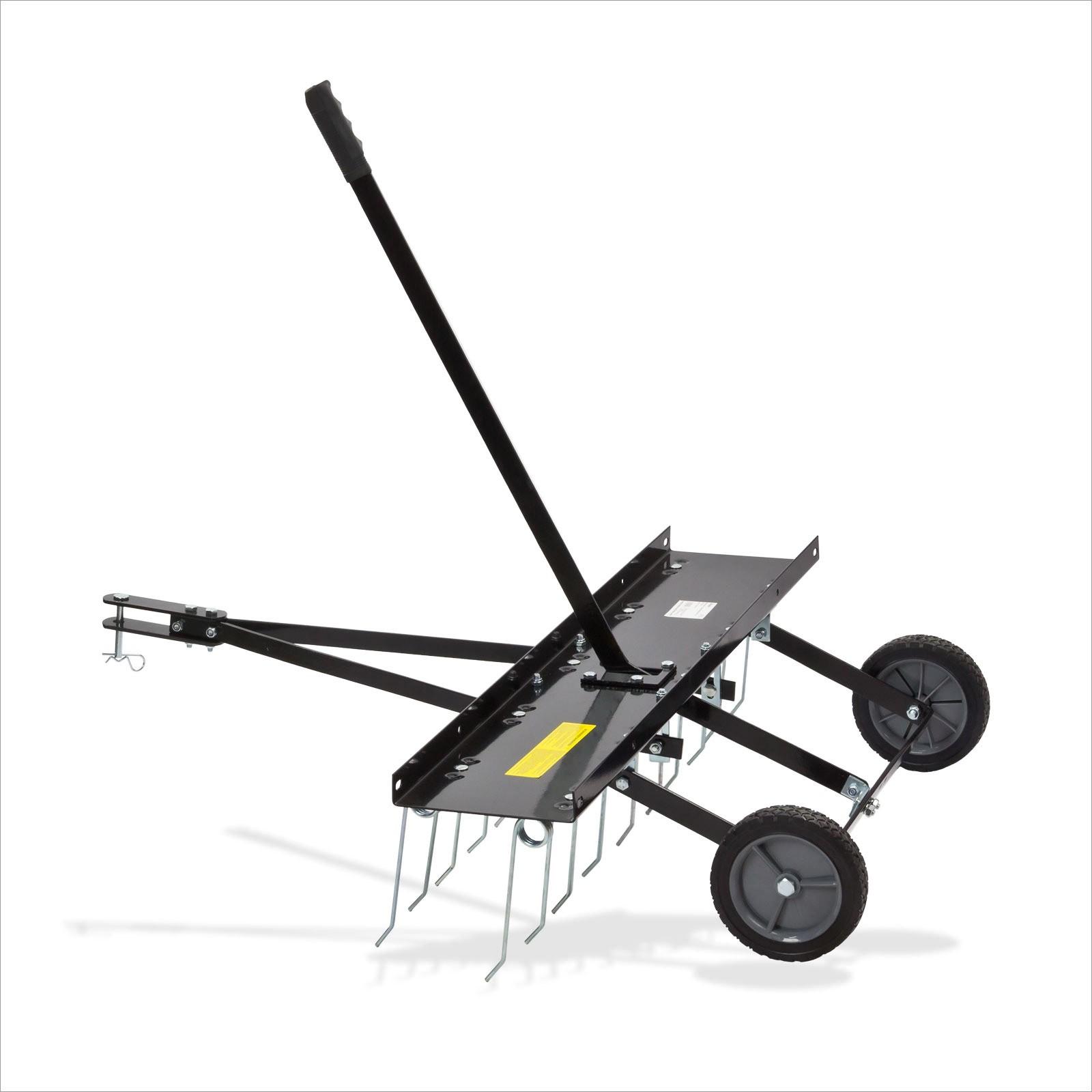 Dema Vertikutierer Rasenstriegel Entmooser Rasenbelüfter 100cm Rasentraktor 94114