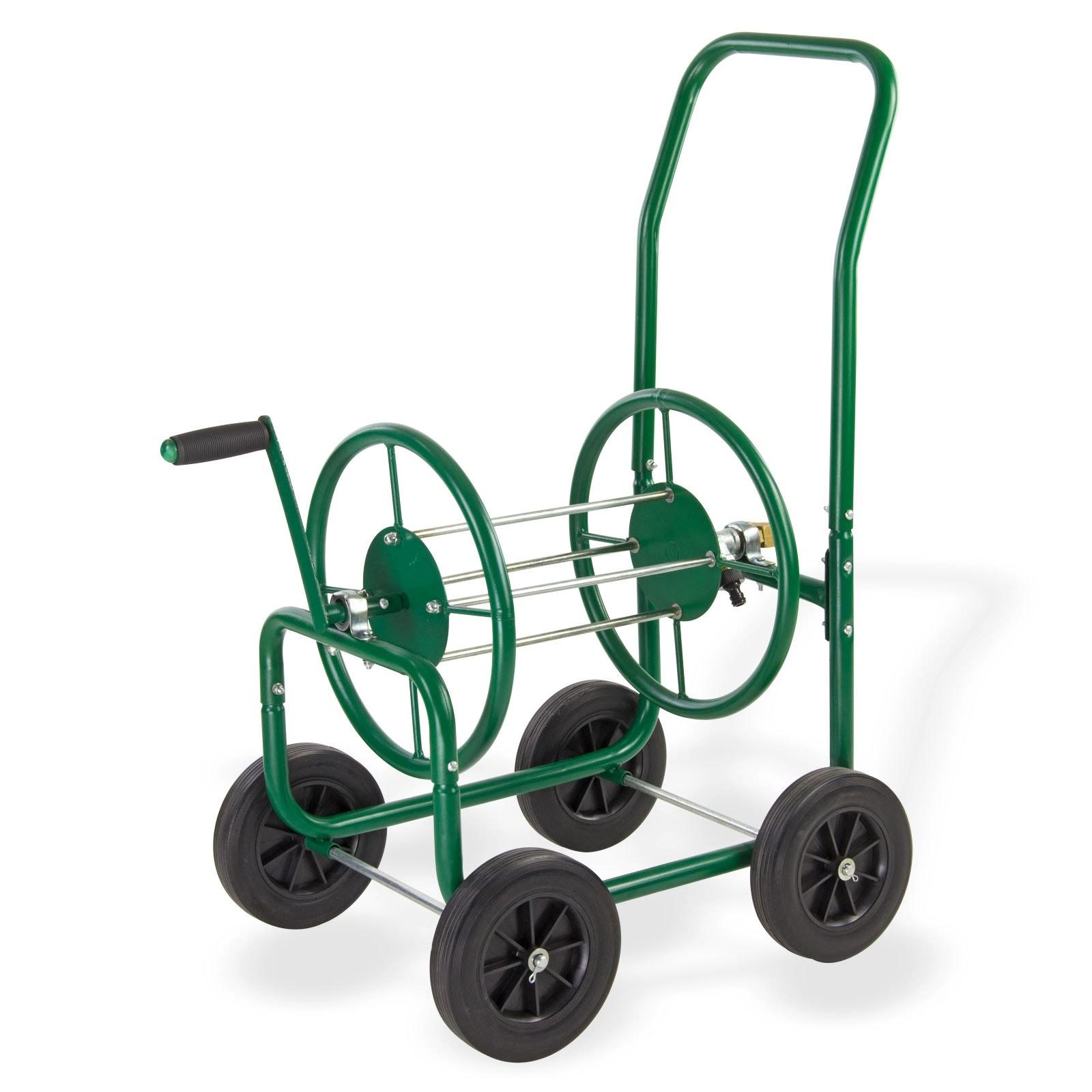 Dema Metall Schlauchaufroller XL SW90 Garten-Schlauchwagen 1/2 Schlauch bis 60m 50220
