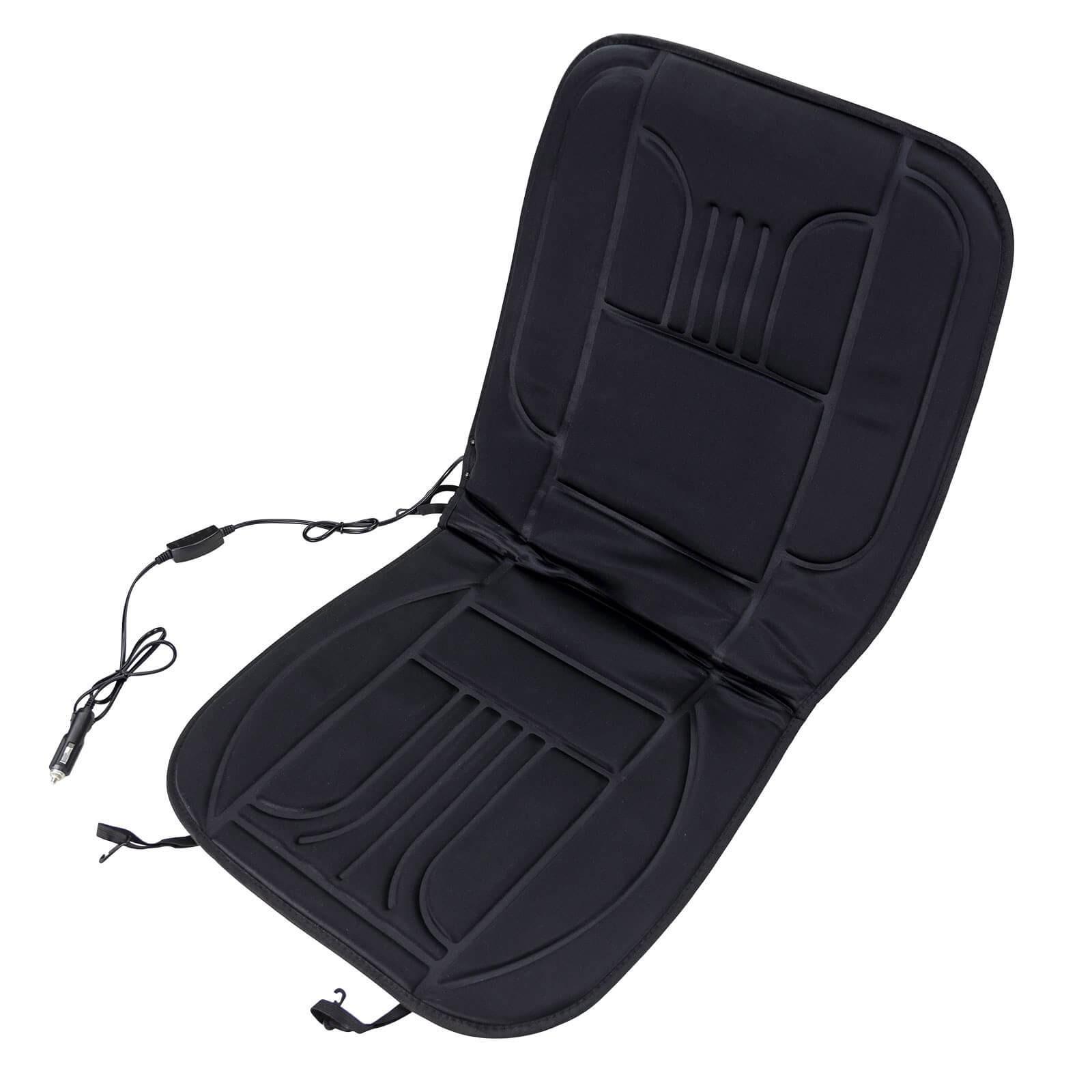 Dema Sitzauflage beheizbar Sitzheizung 12V Auto Hochlehner PKW Heizkissen Sitzkissen 21120