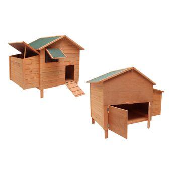Hühnerhaus / Hühnerstall Nest aus Holz XXL – Bild $_i