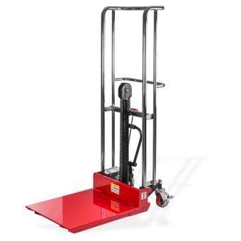 Hydraulischer Hubtischwagen / Hubwagen bis 400kg rot