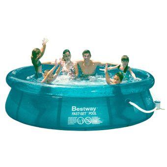 Swimmingpool / Gartenpool 305 x 76 cm mit Filterpumpe