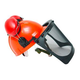 Forsthelm / Forstschutzhelm 54-63 cm orange normgerecht PSA-Forst – Bild $_i