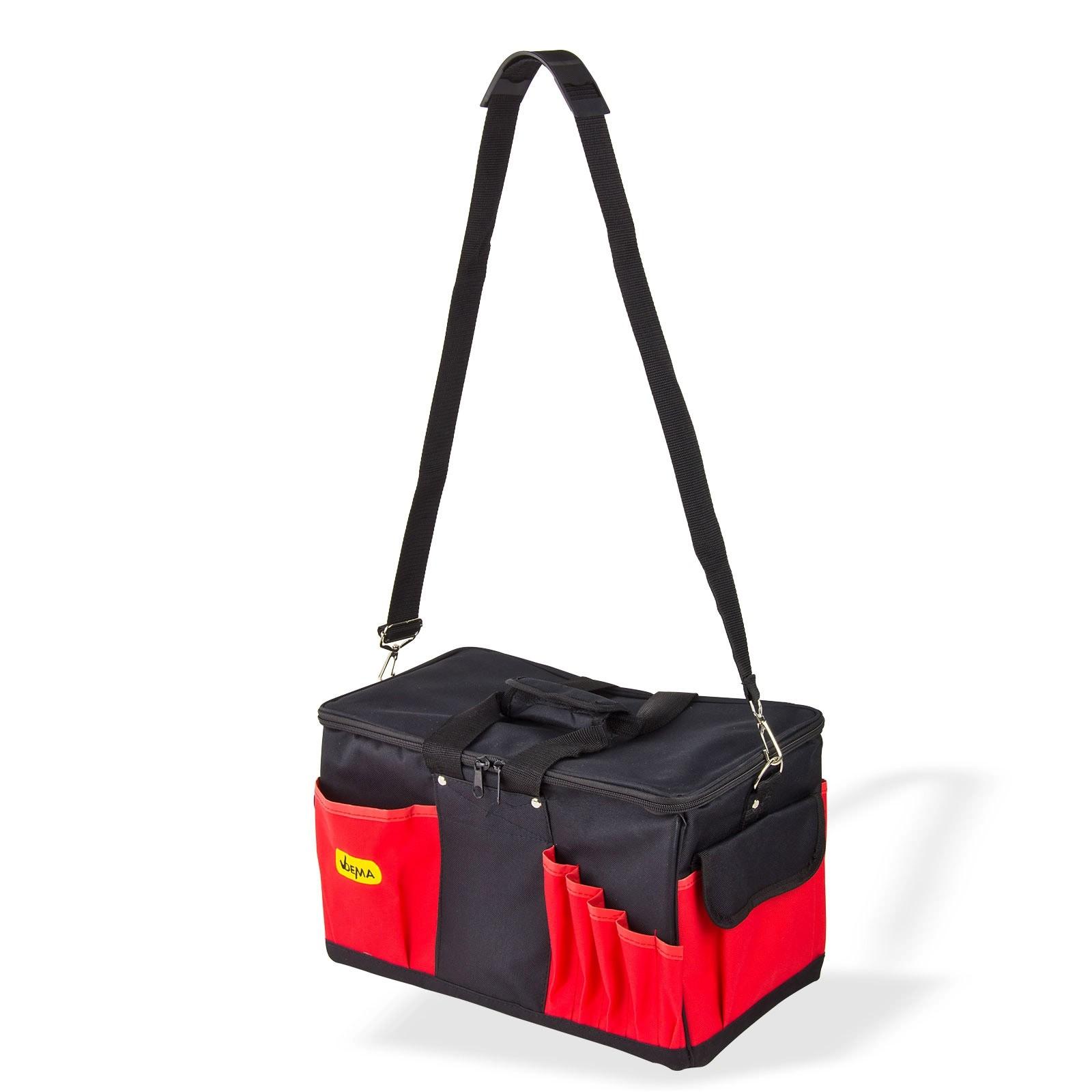 Dema Werkzeugtasche Werkzeug-Tasche Umhänge-Tasche große Montagetasche 14 Fächer 10312