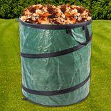 Gartenabfallsack / Pop-Up Sack XL 200 Liter (70x60 cm) aus Gewebe PVC