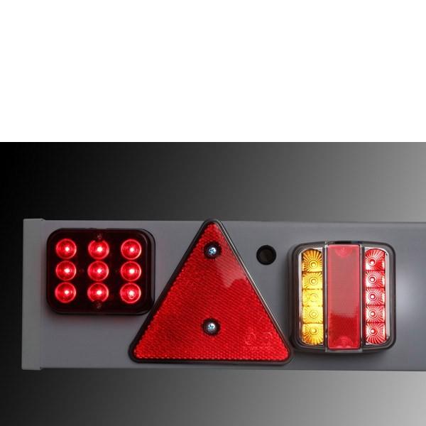 Dema LED Stangenleuchte / Anhängerbeleuchtung für PKW Anhänger 69007