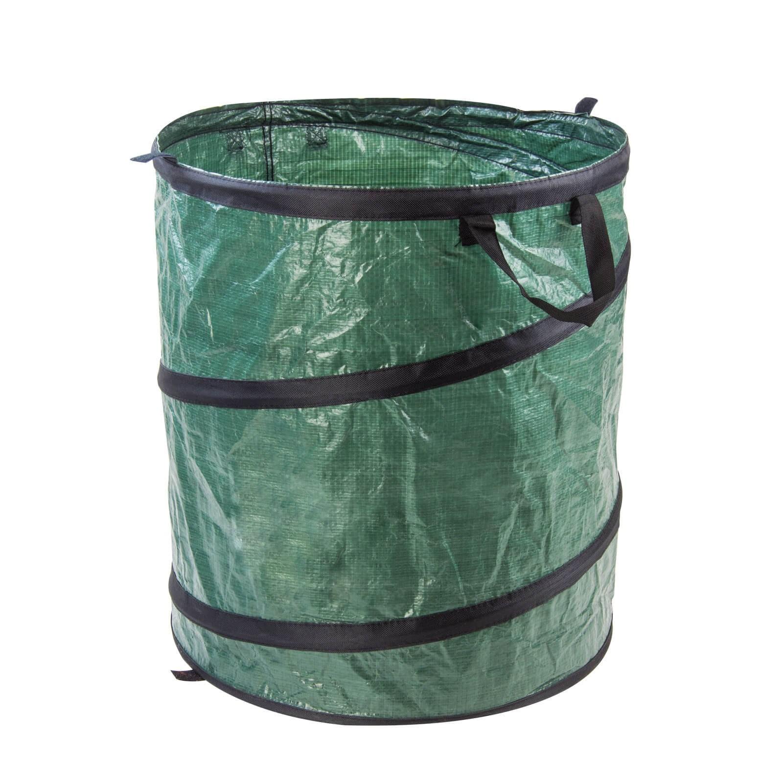 Pop up sack m 100 liter gartenabfallsack laubsack for Pool selbstaufstellend