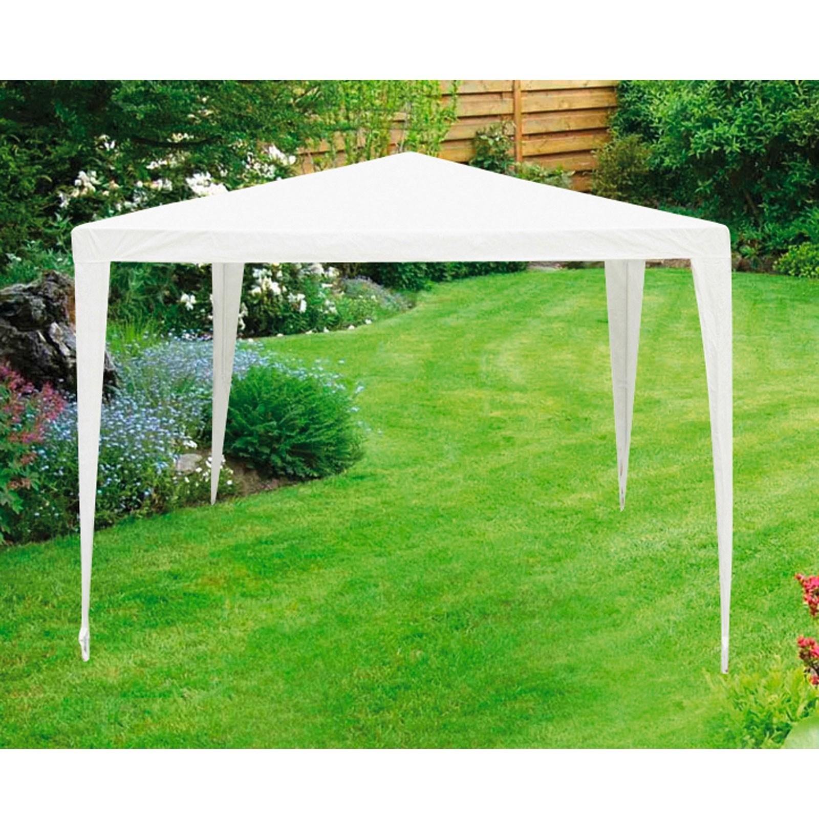 Dema Pavillon Gartenpavillon 2.90 x 2.90 x 2.45 m weiß 41186