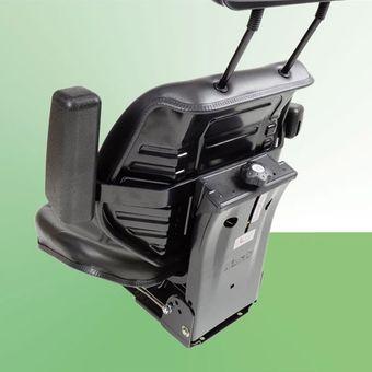 Traktorsitz Schleppersitz ST11BS-07BE m. Armlehne Kopfstütze – Bild $_i