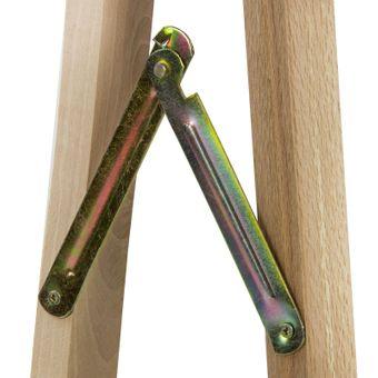 Holz Klappbock Unterstellbock Gerüstbock Stützbock Arbeitsbock Buche bis 100kg – Bild $_i