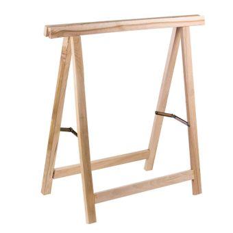 Holz Klappbock / Unterstellbock aus Buche Traglast 100 kg – Bild $_i
