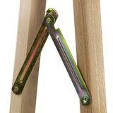 Holz Klappbock / Unterstellbock aus Buche Traglast 100 kg
