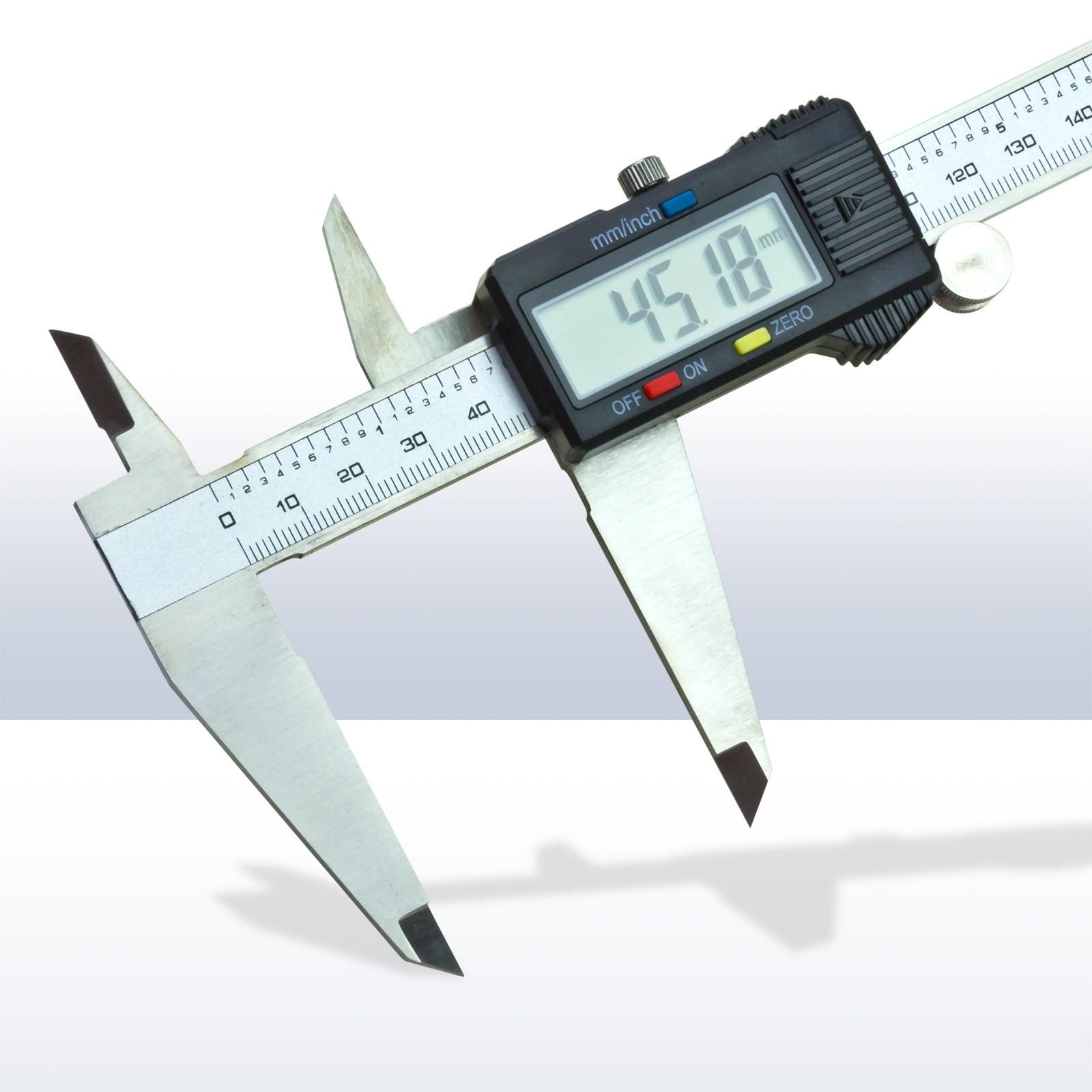 Dema Digitaler Messschieber Schieblehre Schublehre 300mm 20719