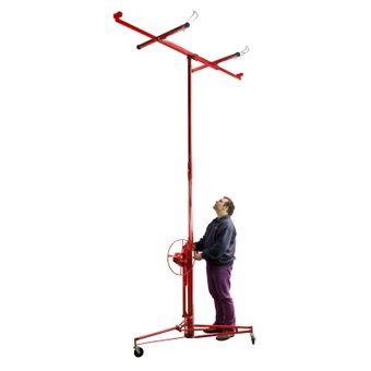 Plattenheber Paneelheber Plattenträger Gipsplattenheber Montagehilfe bis 68 kg