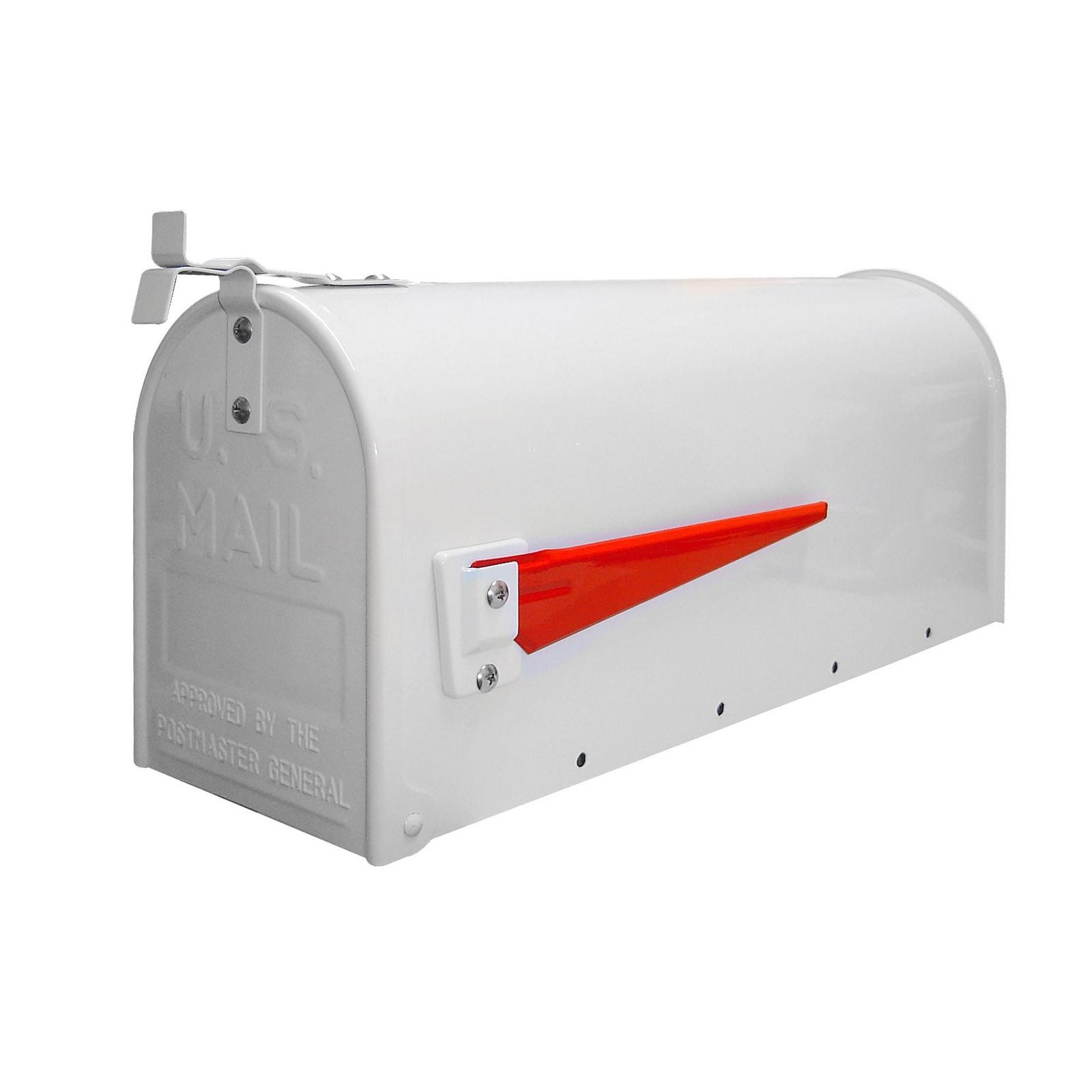 Dema Amerikanischer Briefkasten / American Mailbox aus Stahl in weiß 40747