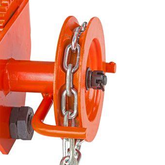 Laufkatze / Rollfahrwerk 0.5 Tonnen mit Haspelkette – Bild $_i