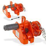 Laufkatze / Rollfahrwerk 0.5 Tonnen mit Haspelkette