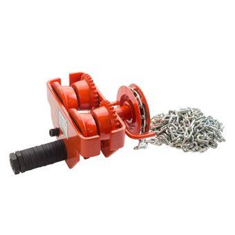 Laufkatze / Rollfahrwerk 1 Tonne mit Haspelkette – Bild $_i