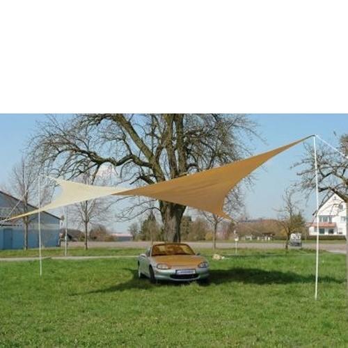 Dema Sonnensegel Quadrat beige 500 x 500 cm inkl. Tragetasche 43203