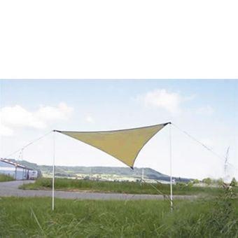 Sonnensegel Dreieck beige 360 x 360 x 360 cm inkl. Tragetasche
