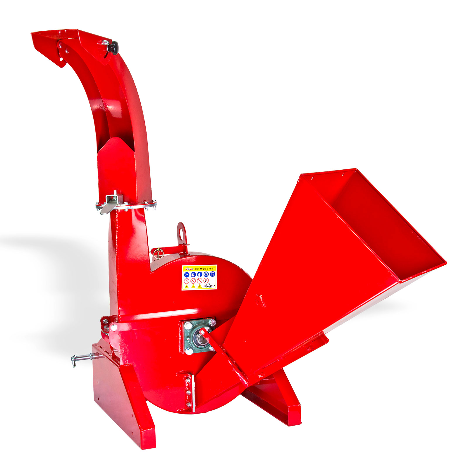 Dema Holzhäcksler / Holzschredder WS5 mit Zapfwellenantrieb 67827