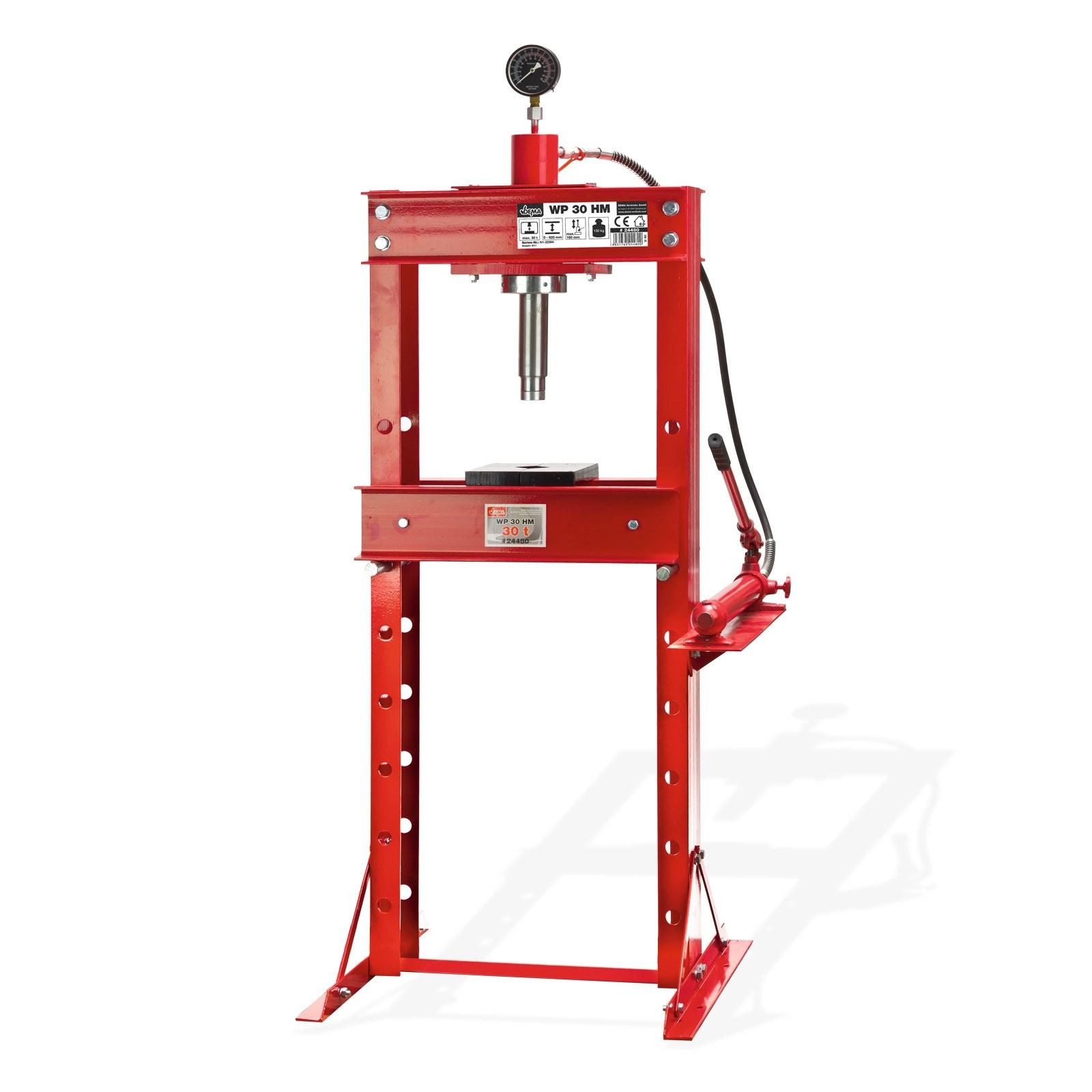 Dema Werkstattpresse 30t Hydraulikpresse Lagerpresse Hydraulik Presse 24480