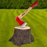 Beil / Spaltbeil 800 g mit Esche Holzstiel 38 cm