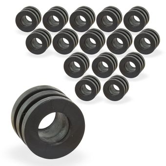 Gummipuffer für Spielerstangen 16 mm Set 16-tlg. für Kicker – Bild $_i