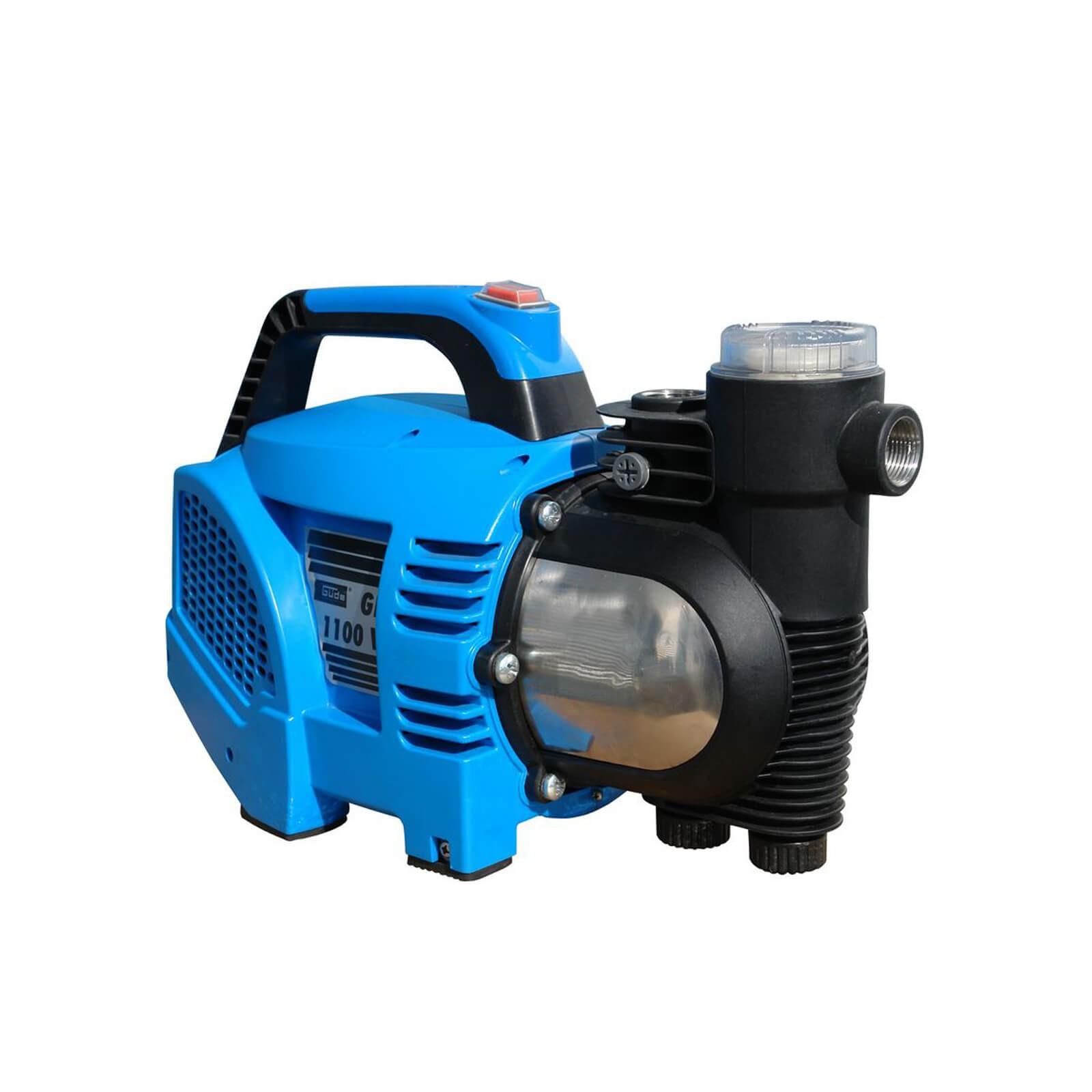 Güde GP 1100 VF Gartenpumpe 1100W 3600l/h Wasserpumpe Pumpe mit Wasserfilter 94228