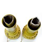 Gelenkwelle / Zapfwelle 120-170 cm 6 Zähne 1 3/8 Zoll bis 35 PS