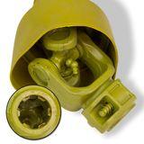 Gelenkwelle / Zapfwelle 120-170 cm 6 Zähne 1 3/8 Zoll bis 47 PS
