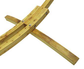 Holz Hängemattengestell / Gestell für Hängematte HG320+ – Bild $_i