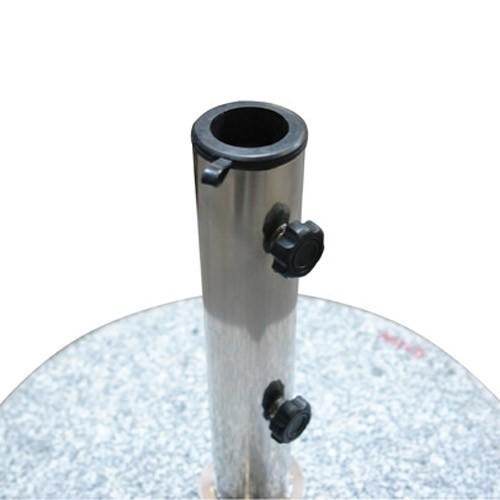 sonnenschirmst nder schirmst nder rund 45cm granit 30 kg rollen. Black Bedroom Furniture Sets. Home Design Ideas