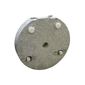 Sonnenschirmständer / Schirmständer rund 45cm Granit 30 kg Rollen – Bild $_i