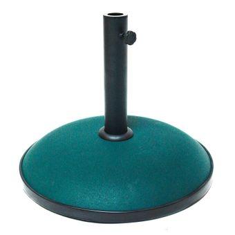 Sonnenschirmständer / Schirmständer Beton dunkelgrün 30 kg rund – Bild $_i