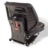 Traktorsitz / Schleppersitz schwarz ohne Armlehne 11BCS
