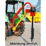 Zapfwellen Erdbohrer / Pfahlbohrer 150 mm mit Zapfwelle im Set