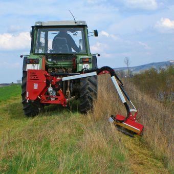 Böschungsmulcher AM-60 mit Y-Messer für Traktoren mit min. 25 PS – Bild $_i