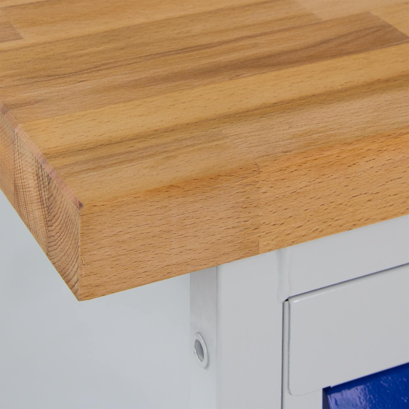 adb tischwagen werkbank 4 schubladen mit rollen. Black Bedroom Furniture Sets. Home Design Ideas