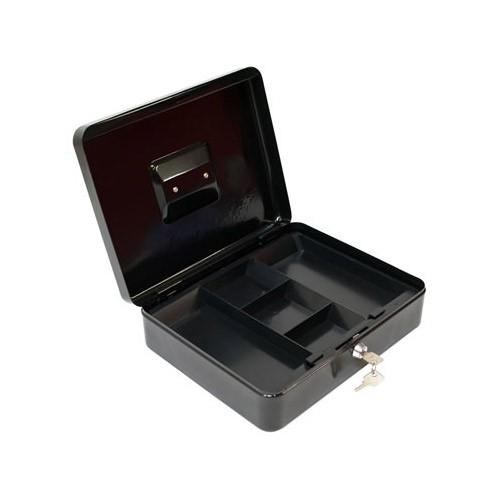 Dema Metall Geldkassette GKG schwarz 30x24x9 cm Geldkasse 41505