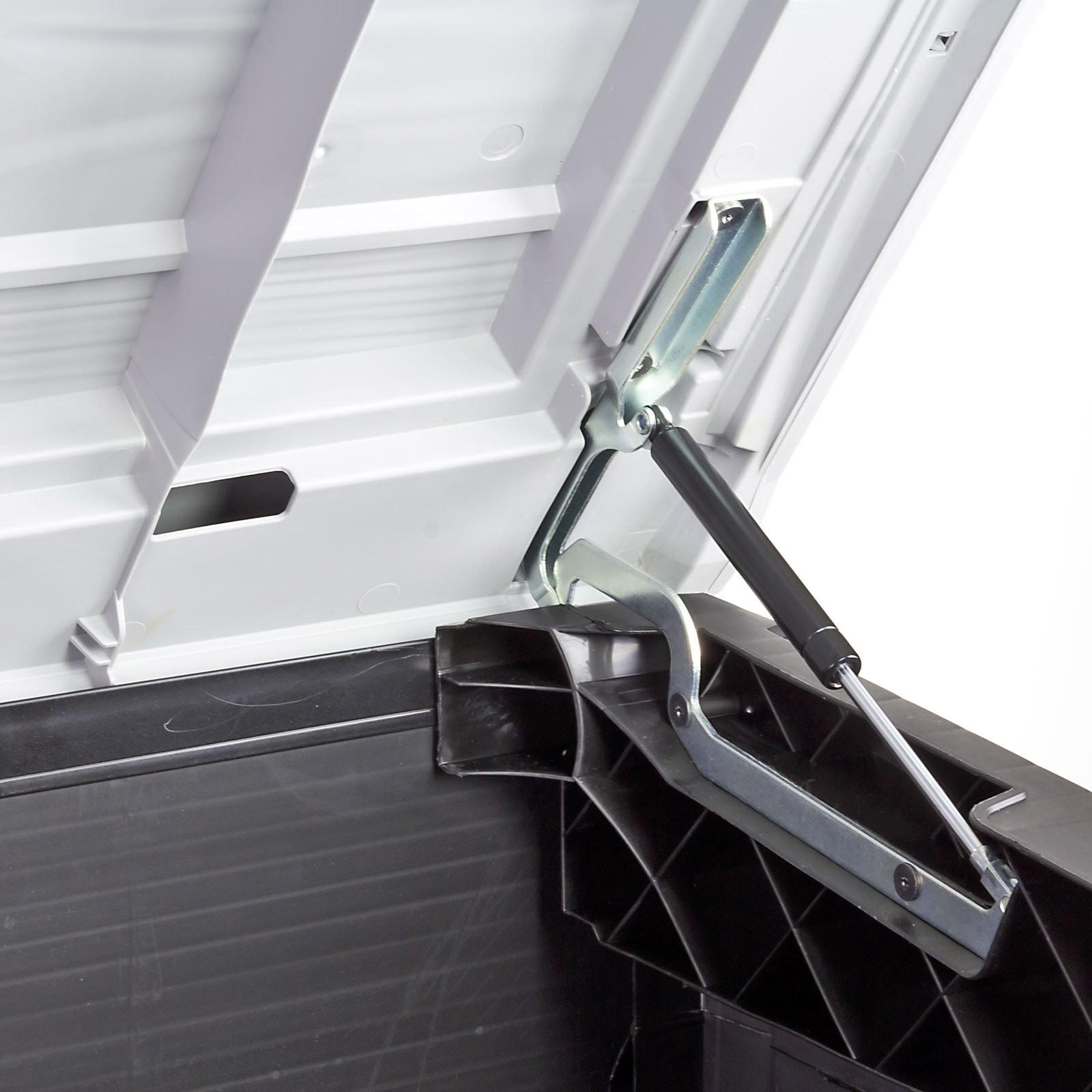 Mulltonnenbox Mulltonnen Sichtschutz Xl Fur 2x240 Liter Behalter