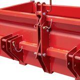 Heckcontainer / Heckmulde 1500 G mechanisch bis 1000 kg