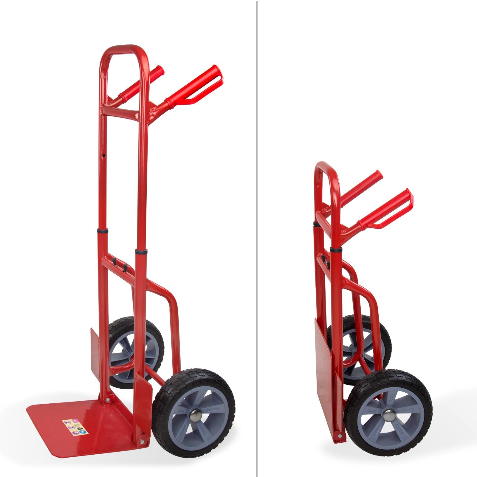 Dema Sackkarre Transportkarre Stapelkarre Karre bis 120 kg klappbar Vollgummireifen 19901